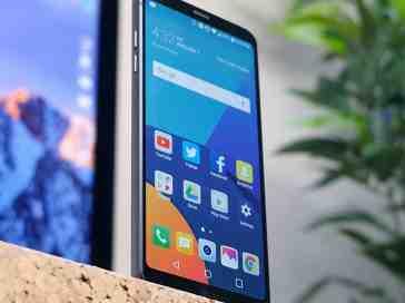 LG G6 front angle