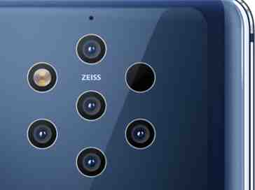 Nokia 9 PureView five cameras