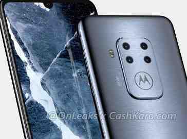 Motorola quad cameras leak