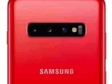 Cardinal Red Galaxy S10+
