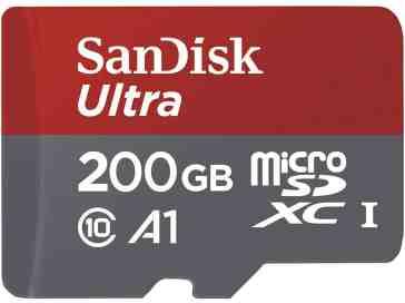 SanDisk microSD card