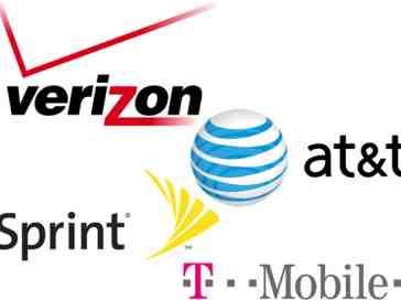Verizon, AT&T, Sprint, T-Mobile