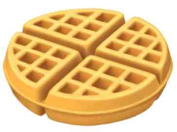 iOS 13 waffle emoji