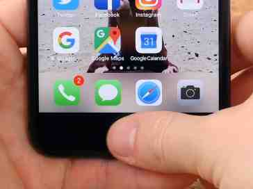 iPhone 8 fingerprint reader
