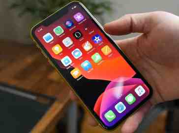 iOS 13 on an iPhone 11