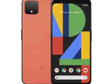 Google Pixel 4 in orange