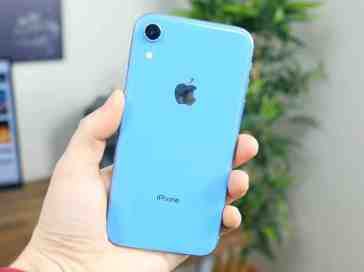 Apple iPhone XR in blue