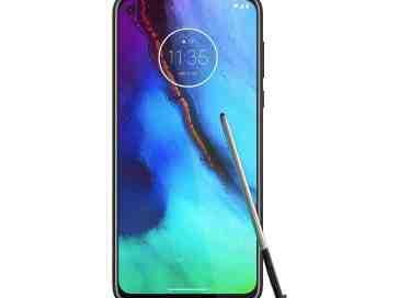 Motorola phone with a stylus