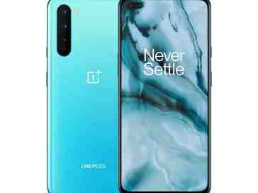 OnePlus Nord in blue