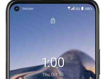 Nokia 8 V 5G UW display