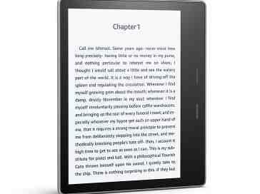 New Amazon Kindle Oasis