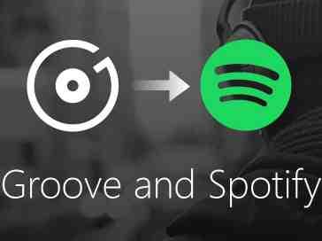 Microsoft Groove Spotify