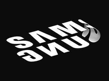 Samsung foldable phone logo