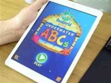 Seaworld's Underwater ABC's app