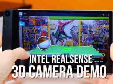 Intel RealSense 3D camera demo