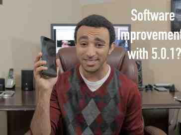 Nexus 6: Software Improvements 5.0.1