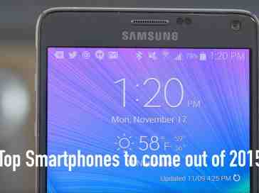 Top Smartphones to come out of 2015!