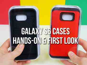 Samsung Galaxy S6 cases hands-on & first look