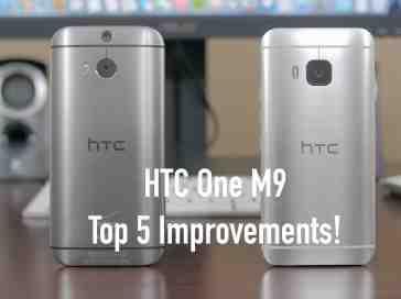 HTC One M9: Top 5 Improvements