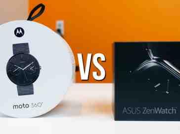 ASUS ZenWatch vs Moto 360 - PhoneDog
