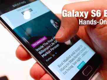 Samsung Galaxy S6 Edge hands on