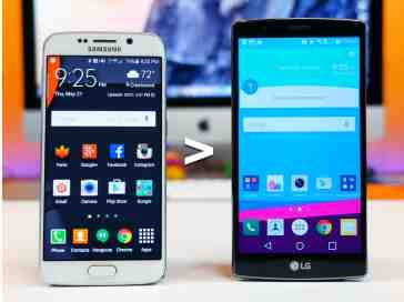 12 reasons why Galaxy S6 edge is better than LG G4 - PhoneDog