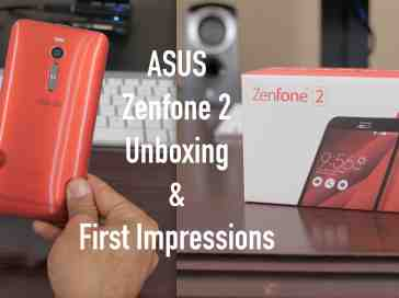 ASUS Zenfone 2 Unboxing and First Impressions