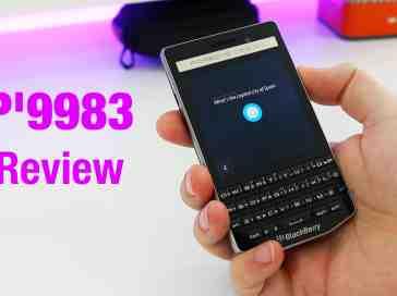 BlackBerry P'9983 Porsche Design