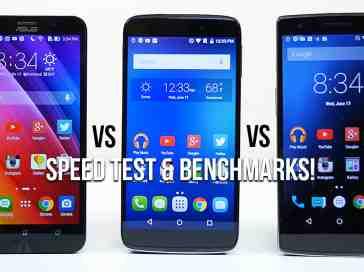 ZenFone 2 vs OneTouch Idol 3 vs OnePlus One - Speed Test & Benchmarks - PhoneDog