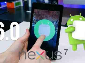 Android 6.0 Marshmallow on Nexus 7 (2013) - PhoneDog