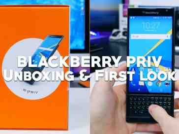 BlackBerry Priv Unboxing & First Look - PhoneDog