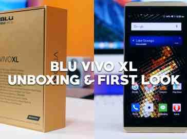 BLU Vivo XL Unboxing & First Look - PhoneDog