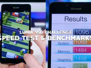 Lumia 950 Challenge - Speed Test & Benchmarks - PhoneDog