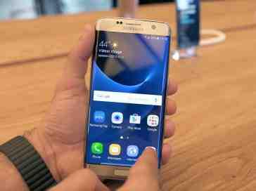 Samsung Galaxy S7 edge hands on