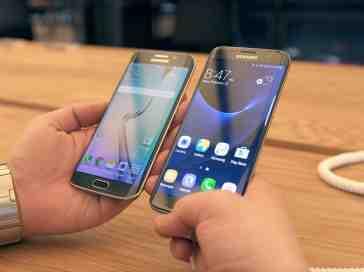 Samsung Galaxy S7, S7 edge comparison