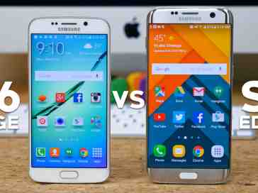 Galaxy S6 edge vs Galaxy S7 edge: What's the difference? - PhoneDog