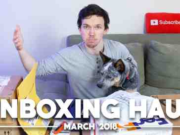 Unboxing Haul With Arlo the Phone Dog! (March 2018) - PhoneDog