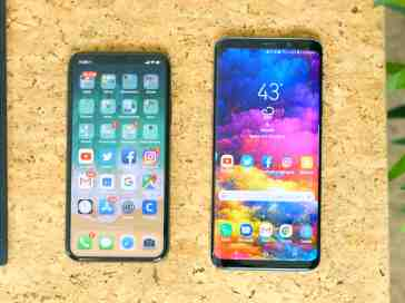 Apple iPhone X vs. Samsung Galaxy S9+ - PhoneDog