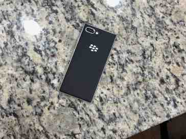 BlackBerry KEY2 Silver Impressions