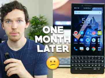 BlackBerry Key2 Review: One Month Later - PhoneDog
