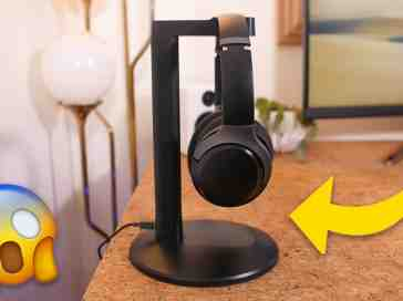 These Headphones Include a Charging Stand!