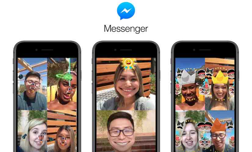 Facebook Messenger's social AR games