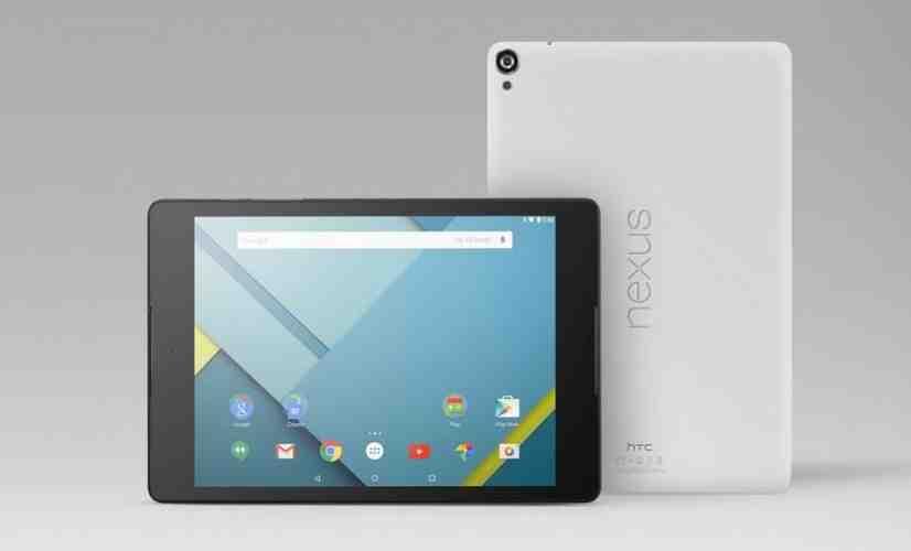 HTC Nexus 9 official Google