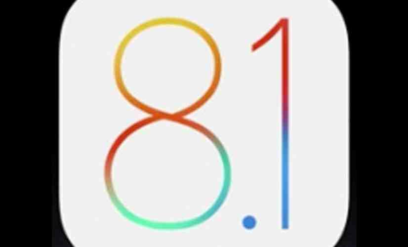 iOS 8.1 logo