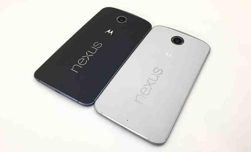 Nexus 6 colors rear