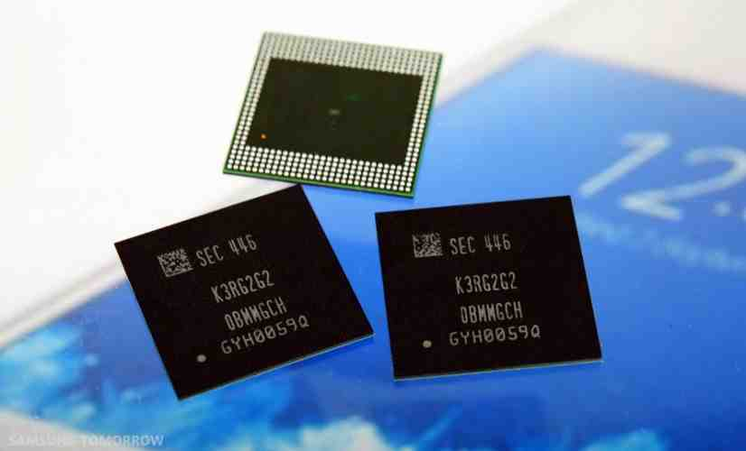 Samsung 4GB of RAM