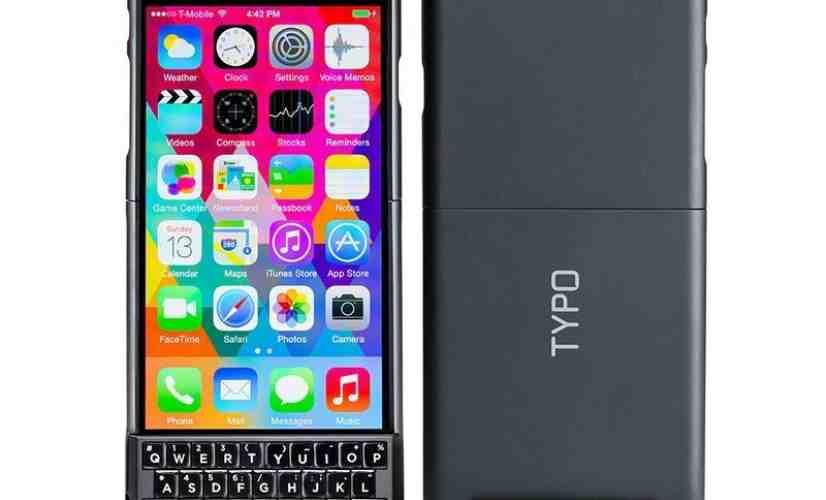 Typo 2 keyboard case iPhone 6