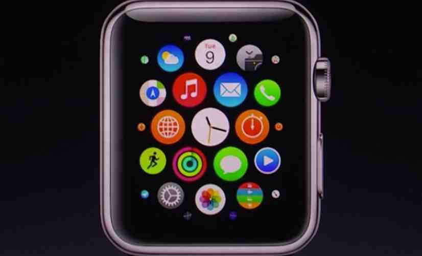 Apple Watch close-up