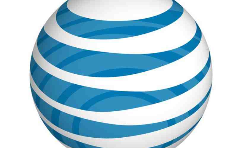 AT&T globe logo blue