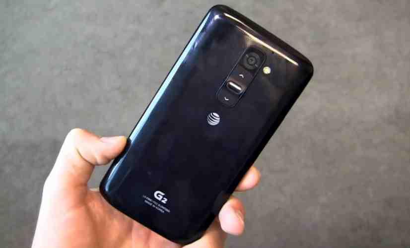 AT&T LG G2 rear